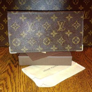 1987 Louis Vuitton long wallet